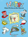 Hats! (A Musical That Celebrates What's Underneath!). By John Higgins and John Jacobson. For Choral (PREV PAK). Expressive Art (Choral). 4 pages. Published by Hal Leonard.  Grab your hat! It's time to party! Hats of all shapes and sizes take over the stage when a group of milliners help Hatless Hank find the perfect hat. Clever rhyming script and song writing explore all kinds of hats, their uses and the people who wear them. A surprise awaits the audience when Ima Milliner appears in her own remarkable, stupendous, contagious hat of all hats! Discover that it's not the hat that makes a person special, but what's underneath! From hilarious to heart-warming, this 20-minute musical, for young performers in Grades K-3, entertains and educates with five original songs and a script featuring over 30 speaking parts. The enhanced Teacher Edition with Singer CD-ROM includes piano/vocal arrangements with choreography, helpful production guide with staging and costume suggestions, teaching objectives linked to the National Standards for each song, PLUS reproducible singer parts on the enclosed CD-ROM. Available separately: Teacher/SGR CD-ROM, Preview CD, Preview Pak, Performance/Accompaniment CD, and a Classroom Kit with Teacher/Singer and Performance/Accompaniment CD for extra value! Duration: ca. 20 minutes. Suggested for grades K-3.  Song List:      Uncle Sam Is Who I Am     The Perfect Hat For Me     My Head, My Heart     Let's Party     Keep Your Head In The Game