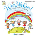 """I Can, We Can! (Fun Songs for Learning Essential Sight Words). By John Jacobson and Mark A. Brymer. For Choral (CD-ROM). Collections. CD-ROM. Published by Hal Leonard.  Reading is one of the most critical skills taught in school. An essential goal in developing this skill is making sure students are completely proficient with Sight Words. The popular """"Sing and Learn"""" series from Hal Leonard presents I Can, We Can - a creative and motivational resource that uses music to reinforce the learning of essential sight words. The Activity Songbook/Listening CD features reproducible song melodies, movement suggestions, activities and games - all presented in a sequential teaching format. Reproducible song pictures with highlighted Sight Words and illustrations are also included for additional learning reinforcement. The enclosed Listening CD provides song recordings to listen and sing-along. A CD-ROM is also available, either separately or in a Classroom Kit with the Activity Songbook/Listening CD. This Enhanced CD-ROM includes song recordings with singers and without, and printable PDFs of singer melodies, full color song pictures, piano accompaniments, activities and artwork. Fun learning through music! Available separately: Activity Songbook/Listening CD, Enhanced CD and Classroom Kit. Lessons and activities by Elizabeth Shier, with special thanks to Sarah Giordano for her creative input. Suggested for grades PreK-1.  Song List:      Play With Me     A Rainbow     Go To The Zoo     I Can, We Can     I Have A Name     I Like To Ride     I Roll The Ball     In My Backpack     L-i-k-e     We Go!     We Like To Move     What Is This For?"""