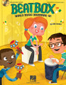BeatBox. (World Music Drumming 101). By Will Schmid. For Choral (Book and CD pak). Music Express Books. Book with CD. 48 pages. Published by Hal Leonard.  Kids love to drum! No matter what instruments you have or don't have, Beatbox will let you experience a variety of world drumming styles as you accompany folk melodies and original songs. Create a basic rock pattern, recreate the sound of a mbira (thumb piano), form your own Haitian meringue ensemble, learn lively body percussion from the long tradition of hambone and step-dancing, or a lively fiddle tune with an Irish Bodhran. Experiment with call and response, layered ostinati, syncopation and improvisation; learn the Bamboo Tamboo from the Caribbean, the Highlife from West Africa, and how to make a drum talk! Helpful step-by-step learning is included, along with cross-cultural connections and historic fun facts, and suggestions on how to use the instruments you already have. The enclosed enhanced CD offers performance and instrumental tracks for each song, and PDFs of songsheets and instrument parts for printing and projection options. Available: Book/Enhanced CD. Suggested for grades 2-5.