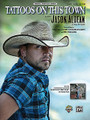 Tattoos on This Town. (Original Sheet Music Edition). By Jason Aldean. By Michael Dulaney and Wendell Mobley. For Piano/Vocal/Guitar. Artist/Personality; Piano/Vocal/Chords; Sheet; Solo. Piano Vocal. Country. 12 pages. Alfred Music Publishing #39059. Published by Alfred Music Publishing.  Jason Aldean entertains us with an inviting melody and intriguing story line on this mid-tempo Country Chart hit from the Country Music Association's Album of the Year, My Kinda Party.