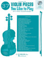 37 Violin Pieces You Like to Play. (Two Accompaniment CDs). By Various. For Violin, Piano Accompaniment. String Solo. CD only. 8 pages. Published by G. Schirmer.
