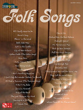 Folk Songs. (Strum & Sing Series). By Various. For Guitar. Easy Guitar. Softcover. 96 pages. Published by Cherry Lane Music.  This series provides an unplugged and pared-down approach to your favorite songs – just the chords and the lyrics, with nothing fancy. These easy-to-play arrangements are designed for both aspiring and professional musicians. Includes nearly 40 folk favorites: All I Really Want to Do • Annie's Song • Blowin' in the Wind • Cat's in the Cradle • Jamaica Farewell • Puff the Magic Dragon • Scarborough Fair • This Land Is Your Land • and more!