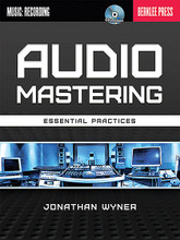 Audio Mastering - Essential Practices. Berklee Guide. Softcover with CD. 256 pages. Published by Berklee Press.  Improve the sound of your recordings. Mastering is the art of optimizing recorded sound, finding the ideal volume levels and tonal quality, and insuring data integrity necessary to produce a professional quality duplication and distribution ready master. This book introduces the techniques and tools of audio mastering, suitable for commercial and home/project studio environments. Technical discussions address gear, studio setup, methodologies, goals, and other considerations for making tracks sound their best, individually and in relationship to other tracks. The accompanying recording has audio examples that support two detailed case studies where readers can follow a mastering engineer's manipulations step by step.