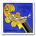 Pirastro Permanent Bass D String - Steel/Nickel