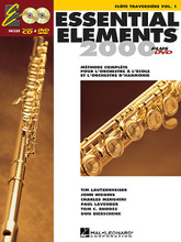 Essential Elements 2000 (Flute) - French Edition. For Flute. Essential Elements 2000. Method book, accompaniment CD and DVD. 48 pages. Published by Hal Leonard.