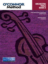 "O'Connor Method for Orchestra - Book II - Viola Part. ""I am pleased to introduce the O'Connor Violin Method for string teachers and students of the violin. This 10-book series is designed to guide the student gradually through the development of pedagogical and musical techniques necessary to become a proficient, well-rounded musician through a carefully planned succession of pieces. Gradual development of left-hand technique, bowing skill and ear training as revealed through the study of beautiful music encourages a love of music-making in a slow, steady and natural way."" - Mark O'Connor"