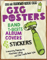 How to Create Your Own Gig Posters, Band T-shirts, Album Covers & Stickers. (Screenprinting, Photocopy Art, Mixed-Media Collage, and Other Guerilla Poster Styles). Book. Softcover. 160 pages. Hal Leonard #194872. Published by Hal Leonard.  Whether your band is still woodshedding or touring the nation, here's how you can craft its identity with your own unique gig posters, T-shirts, record and CD sleeves, stickers, and more. Artist and printmaking professor Ruthann Godollei shares her wealth of experience creating gig posters and teaching bands how to make their own. Inside, she describes and shows a range of media accessible to even the most econo-minded bands-linocuts, stencils, stamps, photocopy art, and screenprints-and how to utilize them to create memorable posters, swag, and merch. Godollei also includes galleries of inspirational examples from artists around the country. Music fans and writers remember cool and creative visuals, and this book gives you the tools and information you need to make sure your gigs and records get noticed.