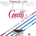 Corelli Steel Cello String Set