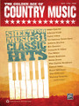 The Golden Age of Country Music by Various. For Piano/Vocal/Guitar. Book; P/V/C Mixed Folio; Piano/Vocal/Chords. MIXED. Country. Softcover. 120 pages. Alfred Music Publishing #36795. Published by Alfred Music Publishing.  Play and sing the hits of country music's Golden Age, when elegantly simple songs of love and heartache dominated the radio and dancehalls across North America. This book contains more than 30 timeless hits made famous by superstars like Eddy Arnold, Johnny Cash, Marty Robbins, Patsy Cline, and Tammy Wynette. Titles: Almost Persuaded (David Houston) • Anytime (Eddy Arnold) • Bouquet of Roses (Eddy Arnold) • Don't Take Your Guns to Town (Johnny Cash) • Don't Worry (Marty Robbins) • El Paso (Marty Robbins) • The End of the World (Skeeter Davis) • Faded Love (Patsy Cline) • Five Feet High and Rising (Johnny Cash) • Flowers on the Wall (The Statler Brothers) • Four Walls (Jim Reeves) • The Hanging Tree (Marty Robbins) • Harper Valley P.T.A. (Jeannie C. Riley) • High Noon (Tex Ritter) • I Don't Hurt Anymore (Hank Snow) • I Got Stripes (Johnny Cash) • I Still Miss Someone (Johnny Cash) • I'm Movin' On (Hank Snow) • Just a Little Lovin' (Will Go a Long Way) (Eddy Arnold) • Lovesick Blues (Hank Williams) • North to Alaska (Johnny Horton) • Please Help Me, I'm Falling (Hank Locklin) • Ribbon of Darkness (Marty Robbins) • Shame on You (Spade Cooley) • Sixteen Tons (Tennessee Ernie Ford) • Smoke! Smoke! Smoke! That Cigarette (Tex Williams) • Stand by Your Man (Tammy Wynette) • Walking the Floor Over You (Ernest Tubb) • Wings of a Dove (Ferlin Husky) • The Year That Clayton Delaney Died (Tom T. Hall) • You Don't Know Me (Eddy Arnold).