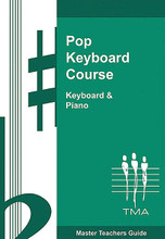 Pop Keyboard Course. (Book 5). For Keyboard. Custom. 80 pages. Published by Technics Music Academy.  This final program brings the student to a very proficient, practical level of playing. Note and chord reading skills continue to be developed, along with arranging, creativity, and improvisation. All the most common keys and related chords will have been covered, along with most styles of popular music. From this level students may choose to continue playing for their own enjoyment, or carry on with other more specialized studies in music or teaching. Songs include: Cabaret • Eye of the Tiger • Blue Suede Shoes • Route 66 • and more.