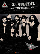 .38 Special Guitar Anthology by .38 Special. For Guitar. Guitar Recorded Version. Softcover. Guitar tablature. 184 pages. Published by Hal Leonard.  Transcriptions of 15 arena-rock favorites from the popular Southern rock band featuring guitarist Jeff Carlisi. Includes: Back Where You Belong • Caught Up in You • Fantasy Girl • Hold On Loosely • If I'd Been the One • Like No Other Night • Rockin' into the Night • Second Chance • Somebody like You • Teacher Teacher • You Keep Runnin' Away • and more.