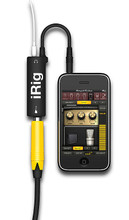 AmpliTube iRig(TM). Software. General Merchandise. Hal Leonard #BOXIRIG0002. Published by Hal Leonard.  AmpliTube iRig is a combination of an easy-to-use instrument interface adapter for iPhone, iPod Touch and iPad mobile devices, and the new AmpliTube for iPhone software for guitar & bass. Simply plug the iRig interface into your iPhone, iPod Touch or iPad, plug your instrument into the appropriate input jack, plug in your headphones, amp or powered speakers, download AmpliTube FREE for iPhone, and start rocking! You'll have at your fingertips the sound and control of three simultaneous stompbox effects + amplifier + cabinet + microphone – just like a traditional guitar or bass stage rig! Add amps and effects as you need them – you can expand your rig with up to 10 stomps, 5 amps, 5 cabinets and 2 microphones in the AmpliTube iRig app custom shop!