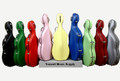 Tonareli Wheeled Fiberglass Cello Case