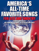 America's All-Time Favorite Songs for God and Country. (P/V/G). By Various. For Piano/Vocal/Guitar. Songbooks & Methods. Music Sales America. Patriotic, Sacred. Softcover. 320 pages. Music Sales #AM994950. Published by Music Sales.  The essential songbook to celebrate the spirit of America. Full-sounding piano arrangements that are easy to play. Complete music, lyrics and chord symbols for all voices and instruments.