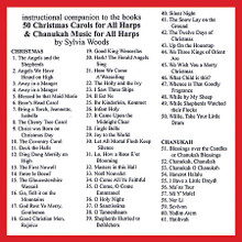 """50 Christmas Carols for All Harps (Companion CD to the Songbook). Arranged by Sylvia Woods. For Harp. Harp. CD only. Published by Hal Leonard.  This companion CD will assist harp players in learning the pieces in the 50 Christmas Carols for All Harps book. Since many will want to """"play along"""" as they learn, Sylvia has recorded most of the pieces slower than they are usually played and as """"straight"""" as possible with little or no expression or rhythmic variations. Each piece has two arrangements: (A) an easy version, and (B) one that is more difficult. On these recordings Sylvia plays version A directly followed by version B. Since the two versions can be played as a duet, you can play either version along with the recording. The companion CD includes all the pieces from the book and in the same order."""