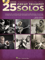 25 Great Trumpet Solos. (Transcriptions * Lessons * Bios * Photos). For Trumpet. Trumpet Instruction. Softcover with CD. 92 pages. Published by Hal Leonard.  From Bix Beiderbecke and Louis Armstrong to Herb Alpert and Chuck Mangione, take a look at the genesis of pop trumpet. This book/CD package provides solo transcriptions in standard notation, lessons on how to play them, biographies, instrument information, photos, history, and more. The accompanying CD contains full-band demo tracks and accompaniment-only tracks for every trumpet solo in the book. For PC and MAC users, the CD is enhanced with Amazing Slow Downer software so you can adjust the recording to any tempo without changing pitch! Songs include: Cherokee (Indian Love Song) • Cherry Pink and Apple Blossom White • Does Anybody Really Know What Time It Is? • Feels So Good • Hello, Dolly! • Holding Back the Years • MacArthur Park • Misirlou • Penny Lane • Salt Peanuts • So What • Zanzibar • and more.