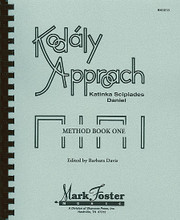 Kodály Approach. (Method Book One - Textbook). For Choral (Book). Mark Foster. Softcover. 214 pages. Shawnee Press #BK0013. Published by Shawnee Press.  These three comprehensive Kodály method books include tested techniques and invaluable ideas by one of the world's leading authorities on adapting Kodály for American children. The concepts and lesson plans in the method may be used independently or with the loose-leaf materials for transparencies, which review basic materials at each of the three levels.  Approach I includes sequences for introducing rhythm, musical sounds and intervals, and the beginning of the sequence for introducing musical form with question and answer through folk songs, games, and dances. Grades K-6.