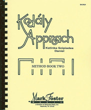 Kodály Approach. (Method Book Two - Textbook). For Choral (Book). Mark Foster. Softcover. 197 pages. Shawnee Press #BK0020. Published by Shawnee Press.  These three comprehensive Kodály method books include tested techniques and invaluable ideas by one of the world's leading authorities on adapting Kodály for American children. The concepts and lesson plans in the method may be used independently or with the loose-leaf materials for transparencies, which review basic materials at each of the three levels. Approach II reinforces the concepts taught in Approach I and presents new rhythmic elements and melodic material with methods to support the basic philosophy and sequential development underlying the entire Kodály approach. Grades K-6.