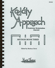 Kodály Approach. (Method Book Three - Textbook). For Choral (Book). Mark Foster. Softcover. 234 pages. Shawnee Press #BK0022. Published by Shawnee Press.  These three comprehensive Kodály method books include tested techniques and invaluable ideas by one of the world's leading authorities on adapting Kodály for American children. The concepts and lesson plans in the method may be used independently or with the loose-leaf materials for transparencies, which review basic materials at each of the three levels. Approach III continues teaching Zoltán Kodály approved fundamentals for the United States educational market with details sequences for rhythm, musical sounds, internals and form that can be used for children through the sixth grade level. Grades K-6.