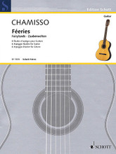 Fairylands. (Guitar). By Olivier Mayran de Chamisso. For Guitar. Guitar. Softcover. 18 pages. Schott Music #SF1005. Published by Schott Music.  Includes a preface by Dieter Kreidler.