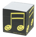 Take a few quick notes. This square happy notes memo pad makes a great reminder of things to do.