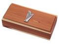 Harp Emblem Cedar Box.