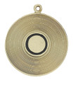 Show your love of music with this keychain with a gold record.