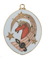 """Decorate your keys with a key chain. This musical unicorn key chain will make a nice addition to your keys. Measures 1 3/4"""" long x 1 1/2"""" wide."""