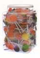 Lollipops With Jar - 200 Music Note.