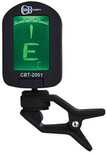 ChordBuddy Clip-On Tuner. (Model CBT (Older Version)). Chord Buddy. General Merchandise. Hal Leonard #CBT-2001. Published by Hal Leonard.  The ChordBuddy Tuner has multiple purposes for many instruments including the guitar, bass, violin and ukulele. This clip-on multi-functional tuner attaches directly to the stringed instrument. The ChordBuddy CBT-510 clip on tuner comes in 5 colors and has 4 tuning modes – chromatic, guitar, bass and ukelele.