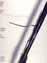 15 Studies by Alfred Uhl (1909-1992). For Bassoon (Bassoon). Fagott-Bibliothek (Bassoon Library). 22 pages. Schott Music #FAG15. Published by Schott Music.