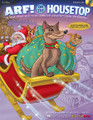 Arf! On The Housetop. (A Holiday Musical for Young Voices). By John Higgins and John Jacobson. For Choral (PREV PAK). Expressive Art (Choral). 4 pages. Published by Hal Leonard.  Please Santa, bring a puppy this time. I know there's one that needs me! Singing children, howling puppies and the one and only Santa Claus make a great combination for a holiday show. The local pound is overcrowded and in an uproar. Someone has eaten Buster Bulldog's supper, Harold Hound Dog can't get any sleep, and there's no room at all to run and play. It's just the pits in the pound! See how one family's trip to the pound on Christmas Eve makes dreams come true for these canine characters and children around the world. With a message of sharing, caring and plenty of canine humor, this holiday musical features five original songs and easy-to-learn rhyming dialog with over 30 speaking parts. The ENHANCED Teacher Edition with Singer CD-ROM includes piano/vocal arrangements with choreography, helpful production guide with staging and costume suggestions, teaching objectives linked to the National Standards for each song, PLUS reproducible singer parts on the enclosed CD-ROM. Available separately: Teacher/Singer CD-ROM, Preview CD (with vocals & dialog), Preview Pak (1 Preview CD and sample pages), Performance/Accompaniment CD, and Classroom Kit (Teacher/Singer CD-ROM and P/A CD).Approximate Performance Time: 20 minutes. Suggested for grades K-3.