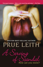 A Serving of Scandal. Book. Softcover. 330 pages. Published by Hal Leonard.  Prue Leith played a leading role in the revolution of Britain's eating habits. Having published twelve highly acclaimed cookbooks, and held the ladle at her own gold standard bistro, she surrendered herself to her own secret passion: Culinary Fiction.  This is the first of three Prue Leith novels to inaugurate the Opus Culinary Fiction series. The mysterious juices of life intermingle with Leith's characters' creative harvests and subtle sauces.