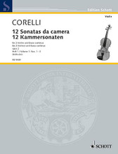 12 Trio Sonatas Op. 2, Nos. 1-3. (Score and Parts). By Arcangelo Corelli (1653-1713). For String Trio. Schott. 40 pages. Schott Music #ED5430. Published by Schott Music.  2 violins and basso continuo; cello (viola da gamba) ad lib.