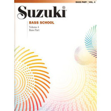 Suzuki Bass School, Volume 4 - Bass Part.