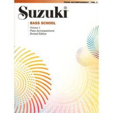 Suzuki Bass School, Volume 1 - Piano Accompaniment.