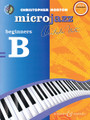 Christopher Norton - Microjazz for Beginners - Beginners B. (with a CD of performances and backing tracks). By Christopher Norton. For Piano (Piano). BH Piano. Softcover with CD. 26 pages. Boosey & Hawkes #M060122576. Published by Boosey & Hawkes.  The second book in Norton's popular Microjazz for Beginners series for student pianists. With a booklet of piano accompaniments that can be played by a teacher or an intermediate level student.