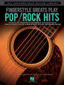 Fingerstyle Greats Play Pop/Rock Hits. (Hal Leonard Solo Guitar Library). By Various. For Guitar. Guitar Solo. Softcover. Guitar tablature. 48 pages. Published by Hal Leonard.  Explore the world of capoing, open and altered tunings, percussive slaps, and two-handed tapping with these ten note-for-note transcriptions in standard notation and tab of songs arranged by the pre-eminent acoustic fingerstyle guitarists of our time. The varied selections in this terrific book include: And So It Goes (Tommy Emmanuel) • Everybody Wants to Rule the World (Andy McKee) • Hey Jude (Chris Proctor) • Little Martha (Leo Kottke) • Superstition (Pete Huttlinger) • A Whiter Shade of Pale (Stephene Bennette) • and more.