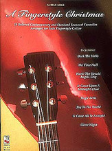 A Fingerstyle Christmas by Various. For Guitar. Guitar Book. 40 pages. Published by Cherry Lane Music.  A collection of 19 treasured Christmas favorites, arranged for fingerstyle guitar. Includes: Deck the Halls • The First Noel • Jingle Bells • Joy to the World • The Marvelous Toy • Silent Night • and more.