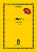 Siegfried WWV 86 C (Study Score). By Richard Wagner (1813-1883). Edited by Egon Voss. Study Score. Study Score. Softcover. 1020 pages. Eulenburg (Schott Music) #ETP8056. Published by Eulenburg (Schott Music).  The score is based on the volumes 12/I-III (RWA 112-10, 112-20, 112-30) of the Wagner Complete Edition.