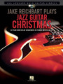 """Jake Reichbart Plays Jazz Guitar Christmas. (Hal Leonard Solo Guitar Library). By Jake Reichbart. For Guitar. Guitar Solo. Softcover with DVD. Published by Hal Leonard.  Ten stylish """"performance ready"""" chord-melody arrangements of Christmas favorites in standard notation and tablature by Jake Reichbart, one of the busiest freelance guitarists in the business. This unique package also includes an instructional DVD featuring Jake performing and teaching each song. Songs: Away in a Manger • Deck the Hall • The First Noel • God Rest Ye Merry, Gentlemen • Hark! the Herald Angels Sing • It Came upon the Midnight Clear • O Little Town of Bethlehem • Silent Night • We Wish You a Merry Christmas • What Child Is This?"""