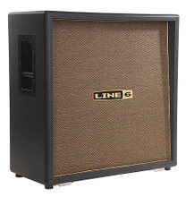 DT50 4x12 Extension Cab. Guitar Amps. General Merchandise. Hal Leonard #990301601. Published by Hal Leonard.  Line 6 DT5™ 4x12 extension cab for DT50 guitar amplifiers. Cross-loaded with (2) 12″ Custom Celestion® G12H90 speakers and (2) 12″ Celestion® Vintage 30 speakers. Straight front with slant baffle and closed back. This cab is built to last of 11-ply poplar. Features solid, heavy-duty casters and recessed handles. 8-ohms.