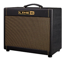 DT25 1x12 Extension Guitar Speaker Cabinet. Guitar Amps. General Merchandise. Line 6 #990301701. Published by Line 6.   The DT25™ 1x12 Extension Cabinet is the perfect pairing for the portable DT25™ 25W/10W tube amp from Line 6 and tube-amp guru Reinhold Bogner. The cabinet features a front-ported, closed-back design that produces a HUGE sound much bigger than its small footprint. The 12-inch custom Celestion® G12H-90 speaker delivers clean tones that sparkle and sing, creamy overdrives that respond to the intricacies of your picking and searing high-gain tones that launch themselves from the cabinet.