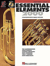 Essential Elements 2000 - Book 2 (Baritone B.C.). For Baritone B.C.. Essential Elements 2000. Play Along. Method book and accompaniment CD. 48 pages. Published by Hal Leonard.  Book 2 includes: