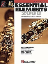 Essential Elements 2000 - Book 2 (Bb Clarinet). For Clarinet. Essential Elements 2000. Play Along. Method book and accompaniment CD. 48 pages. Published by Hal Leonard.  Book 2 includes: