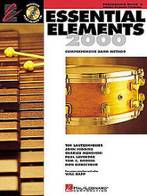Essential Elements 2000 - Book 2 (Percussion/Keyboard Percussion). For Percussion, Mallet Percussion. Essential Elements 2000. Play Along. Method book and accompaniment CD. 144 pages. Published by Hal Leonard.  Book 2 includes: