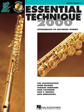 Essential Technique 2000 - Intermediate to Advanced Studies. (Flute). For Flute. Essential Elements. Play Along. Softcover with CD. 48 pages. Published by Hal Leonard.  A technique-building program for any band, Essential Technique 2000 is also an excellent tool for individual or small group study. This is Book 3 of the Essential Elements 2000 beginning band system and features: