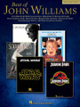 "Best of John Williams by John Williams. For Piano/Keyboard. Big Note Composer Collection. Softcover. 72 pages. Published by Hal Leonard.  18 of Williams' most popular themes arranged so even beginners can play them. Includes: Across the Stars • Theme from E.T. (The Extra-Terrestrial) • Harry's Wondrous World • The Imperial March (Darth Vader's Theme) • Theme from ""Jaws"" • Olympic Fanfare and Theme • Princess Leia's Theme • Raiders March • Theme from ""Schindler's List"" • Somewhere in My Memory • With Malice Toward None • and more."