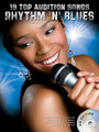 19 Top Audition Songs - Rhythm & Blues by Various. For Vocal. Audition Songs. Softcover with CD. 128 pages. Music Sales #AM1001297. Published by Music Sales.  This pack includes 19 of the best R&B audition songs, featuring songs made famous by artists including Justin Timberlake, Mary J. Blige & Lauryn Hill. Sing solo or with a partner to the soundalike CD backing tracks, or choose a pre-recorded singing partner from the two CDs! Songs include: Breathe • Doo Wop (That Thing) • Hey Ya! • Kiss • No Diggity • Real Love • Rock with You • Say My Name • Superstar • Yeah! • You Had Me • and more.