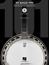 101 Five-String Banjo Tips. (Stuff All the Pros Know and Use). For Banjo. Banjo. Softcover with CD. 80 pages. Published by Hal Leonard.  Ready to take your banjo playing up a notch? Renowned teacher Fred Sokolow presents valuable how-to insight from which banjo players of all styles and levels can benefit. The text, photos, music, diagrams and accompanying CD provide a terrific, easy-to-use resource for a variety of topics, including techniques, ear training, performance, and much more!